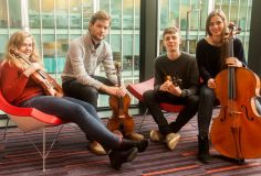 Kapel concert: Barbican String Quartet
