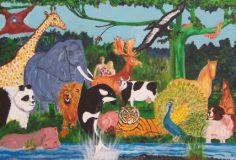 Viering God en de dieren