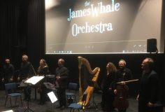 Kapel concert: City Girl film begeleid door James Whale Orchestra