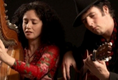 Kapel Concert– Claudia y Manito met het programma 'Arpamor'