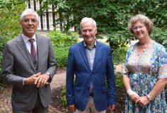 Viering met Peter Korver, Monika Rietveld en Tom Rijken
